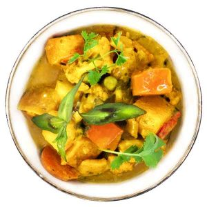 sauce curry légumes