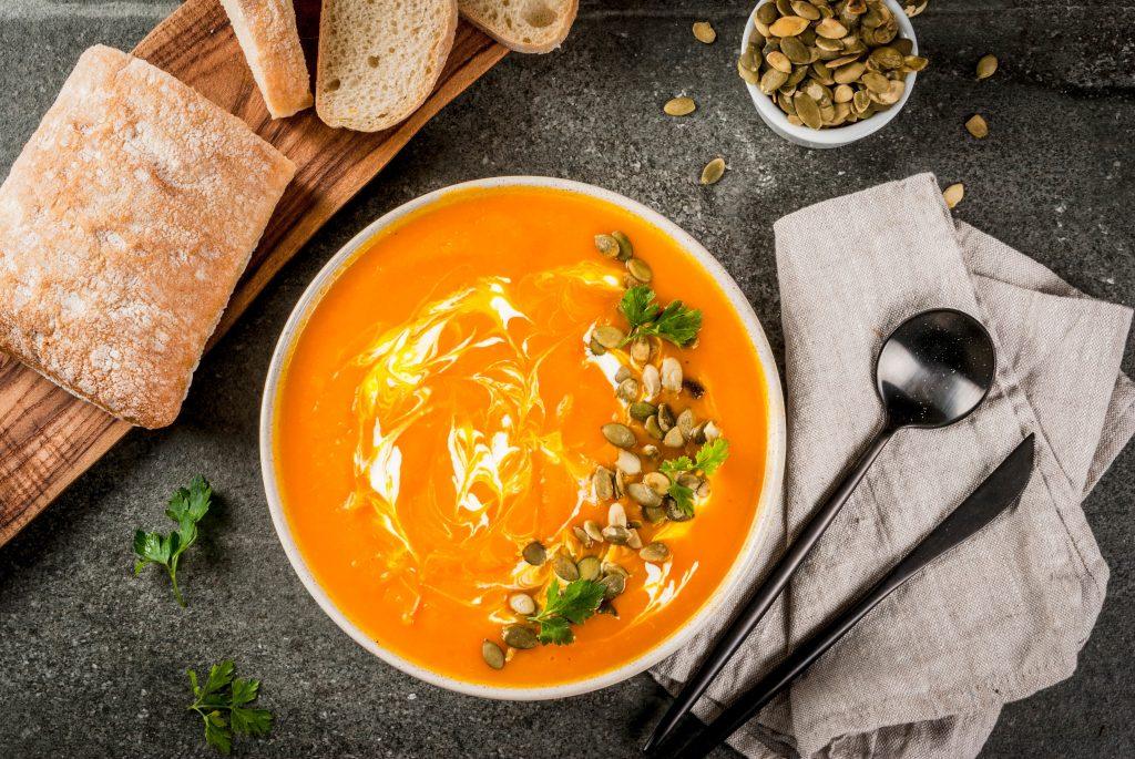 soupe orange
