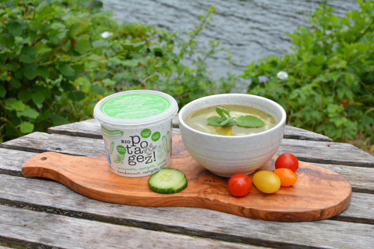 soupe individuelle - produits bio
